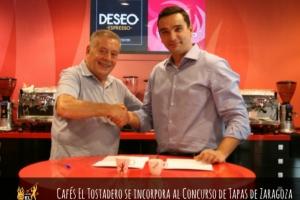 CAFÉS EL TOSTADERO SE INCORPORA AL CONCURSO DE TAPAS DE ZARAGOZA
